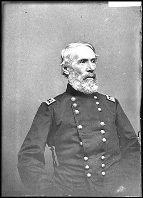 [Portrait of Maj. Gen. Edwin V. Sumner, officer of the Federal Army]