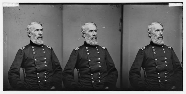 [Portrait of Maj. Gen. Edwin V. Sumner, officer of the Federal Army]