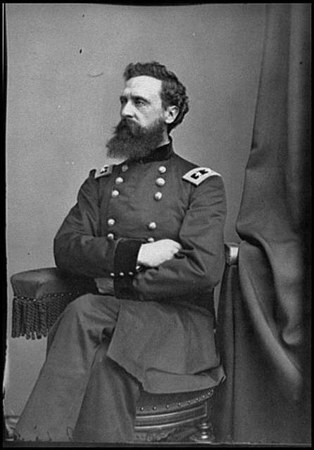 [Portrait of Maj. Gen. George Sykes, officer of the Federal Army]
