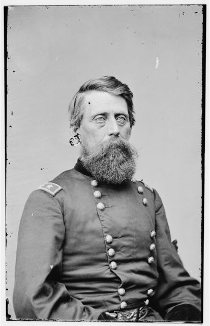 [Portrait of Maj. Gen. Jefferson Davis, officer of the Federal Army]
