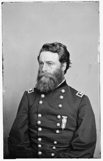 [Portrait of Maj. Gen. Joseph A. Mower, officer of the Federal Army]
