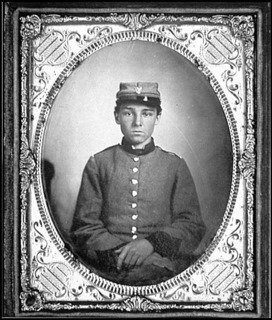 [Portrait of Pvt. Edwin Francis Jemison, 2nd Louisiana Regiment, C.S.A.]