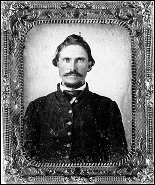 [Portrait of Pvt. Hite Bird, Virginia Regiment, C.S.A.]