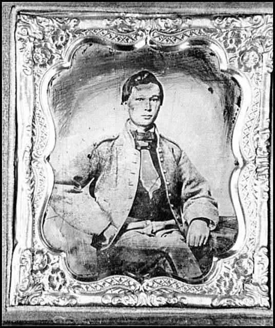 [Portrait of Pvt. John White, drummer boy, Virginia Regiment, C.S.A.]