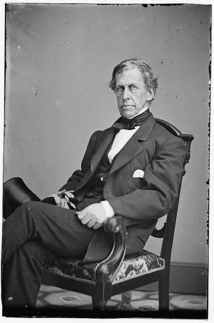 [Portrait of Rear Admiral Charles Wilkes, officer of the Federal Navy]