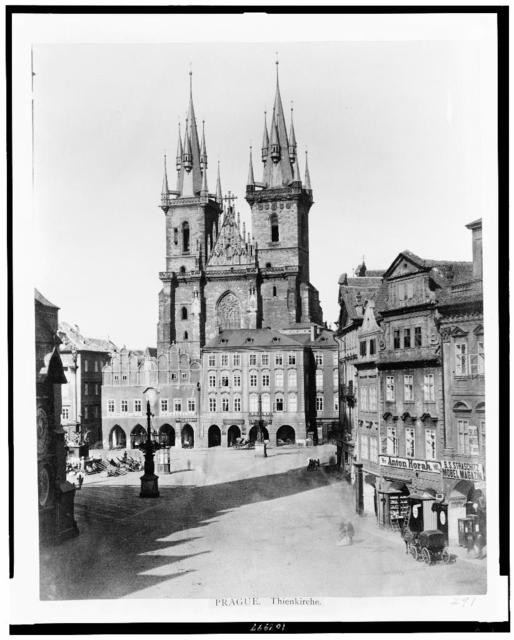 Prague. Thienkirche