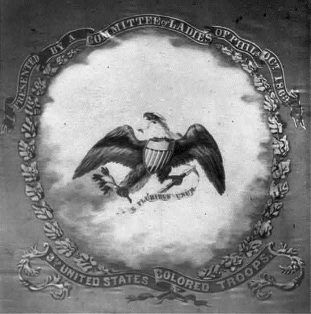 Presented by a committee of ladies of Phila. Oct. 1863 3rd United States Colored Troops.