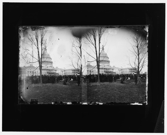 President Grant's inauguration, 1869.