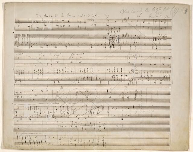 [Psalm XVIII], Die Himmel erzählen die Ehre Gottes, for Tenor, Bass, and Accompaniment, [1860]