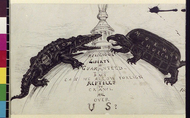 Religious liberty is guaranteed : but can we allow foreign reptiles to crawl all over us?