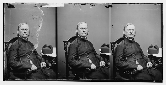 Rev. Father Pierre Jean De Smet (1801-1873) Catholic missionary to Indian Territory