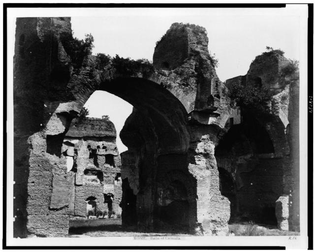 Rome. Baths of Caracalla
