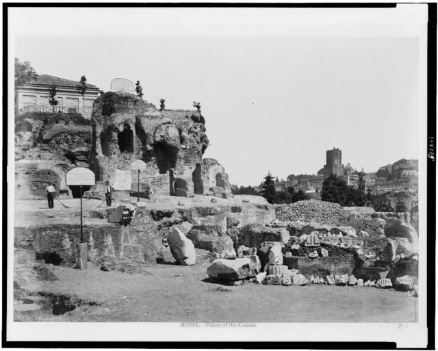 Rome. Palace of the Caesars