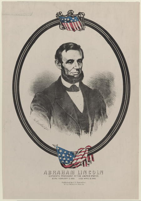 [Rosenthal portrait of Lincoln.]