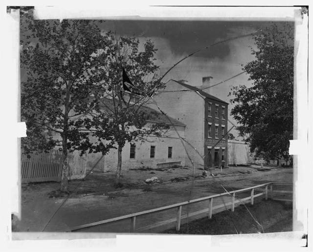 Slave pen, Alexandria, VA. (Civil War time)