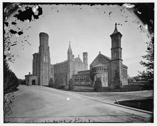 Smithsonian Institute, 1860-65