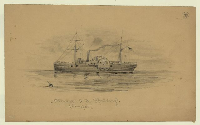 Steamer S. R. Spalding. [Transport]