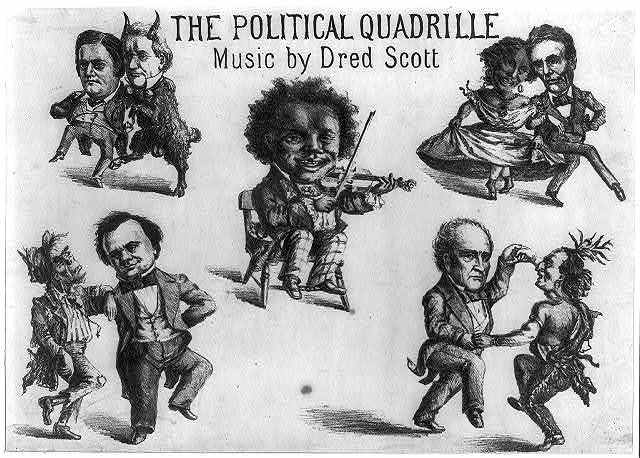 The political quadrille. Music by Dred Scott