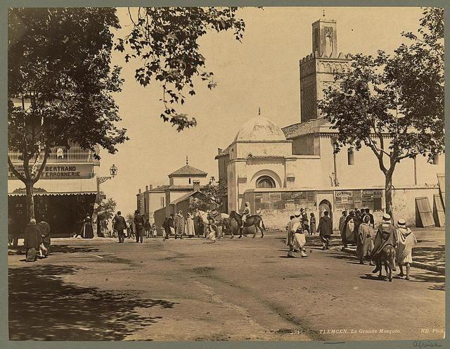 Tlemcen. La grand Mosquée / ND. Phot.