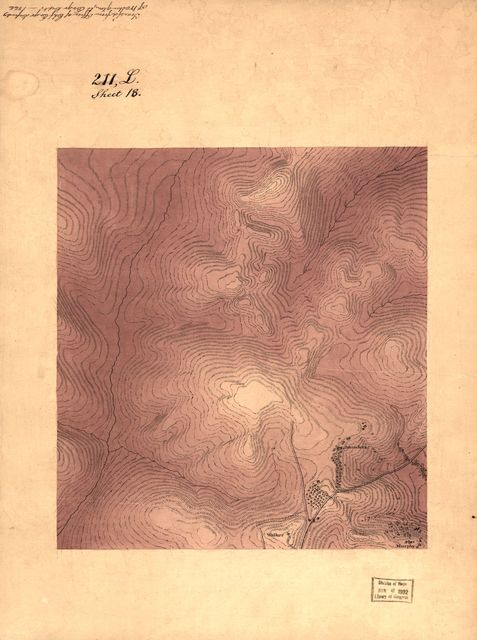 [Topographic map of the vicinity of Fort Slocum, Washington D.C.].