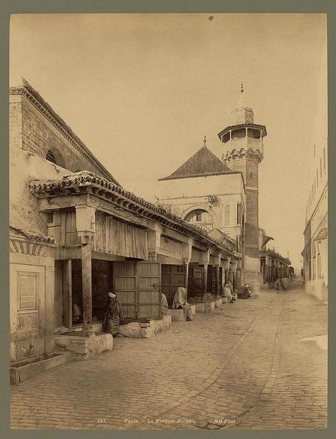 Tunis. La Mosquée Becquia / ND Phot.