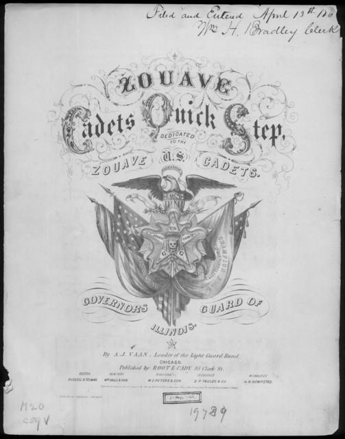 U. S. zouave cadets quick step