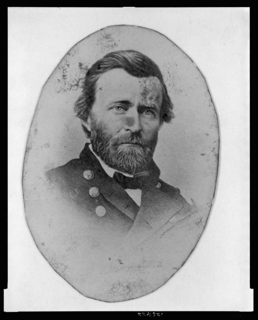 [Ulysses S. Grant, in uniform, head-and-shoulders portrait, facing front]