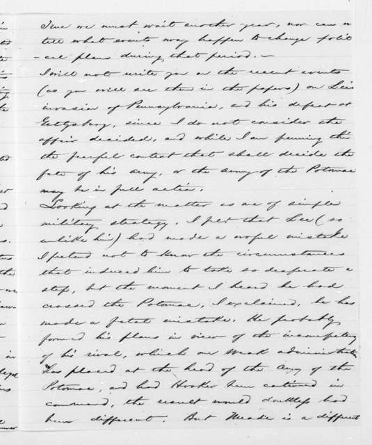 Unbound letters---1860-1864