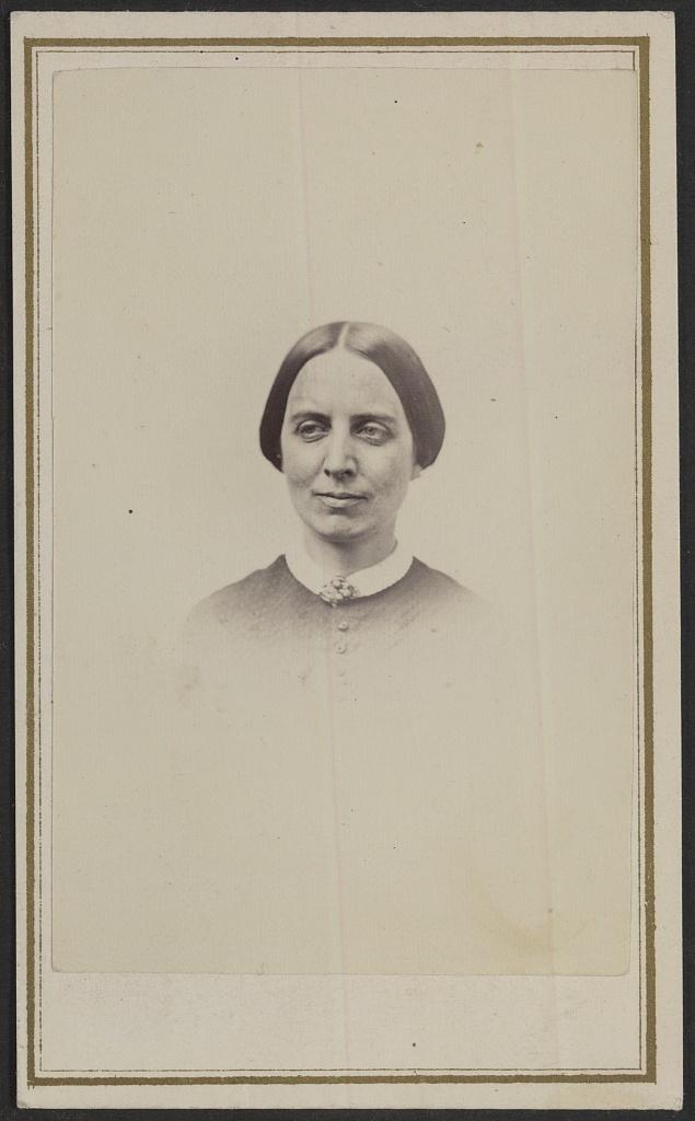 [Unidentified woman, possibly a nurse, during the Civil War] / G. F. Child, photographer, 304 Penn. Avenue, Washington, D.C.