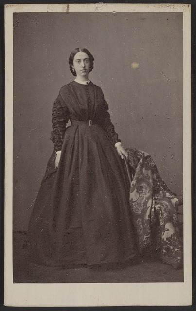 [Unidentified woman, possibly a nurse, during the Civil War] / Rintoul & Rockwood, 839 Broadway, N.Y.