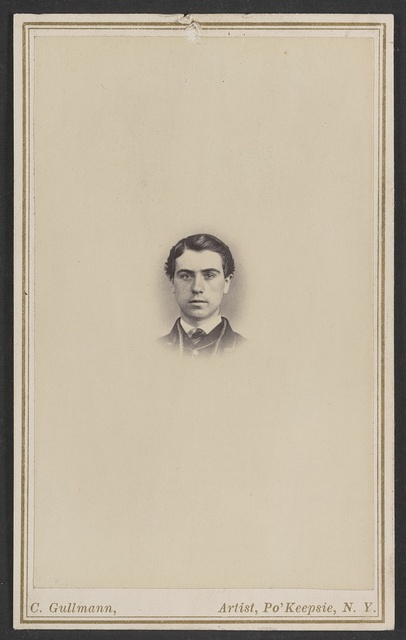 [Unidentified young man]