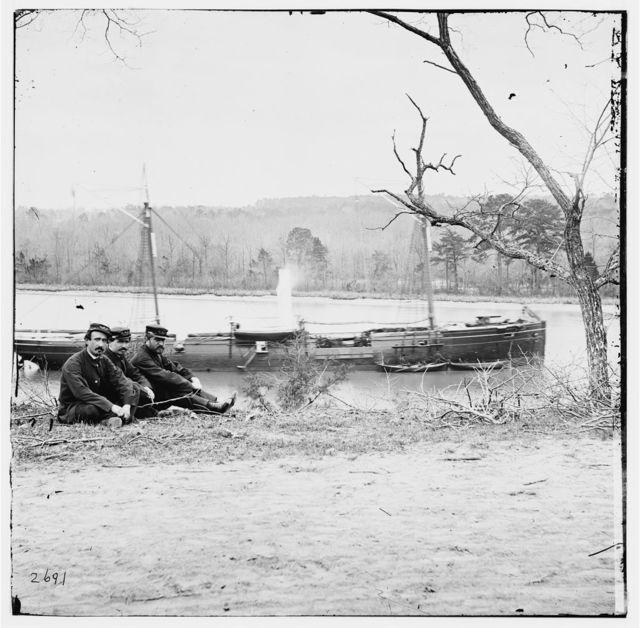 [Unknown location. U.S. gunboat Kansas (built in 1863)]