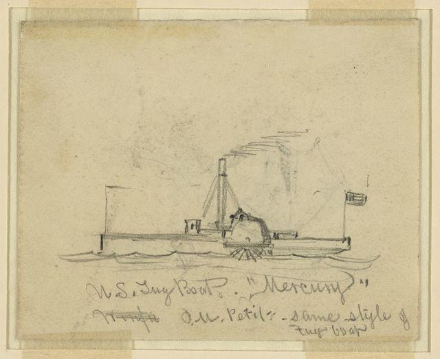 """U.S. Tug Boat """"Mercury"""""""
