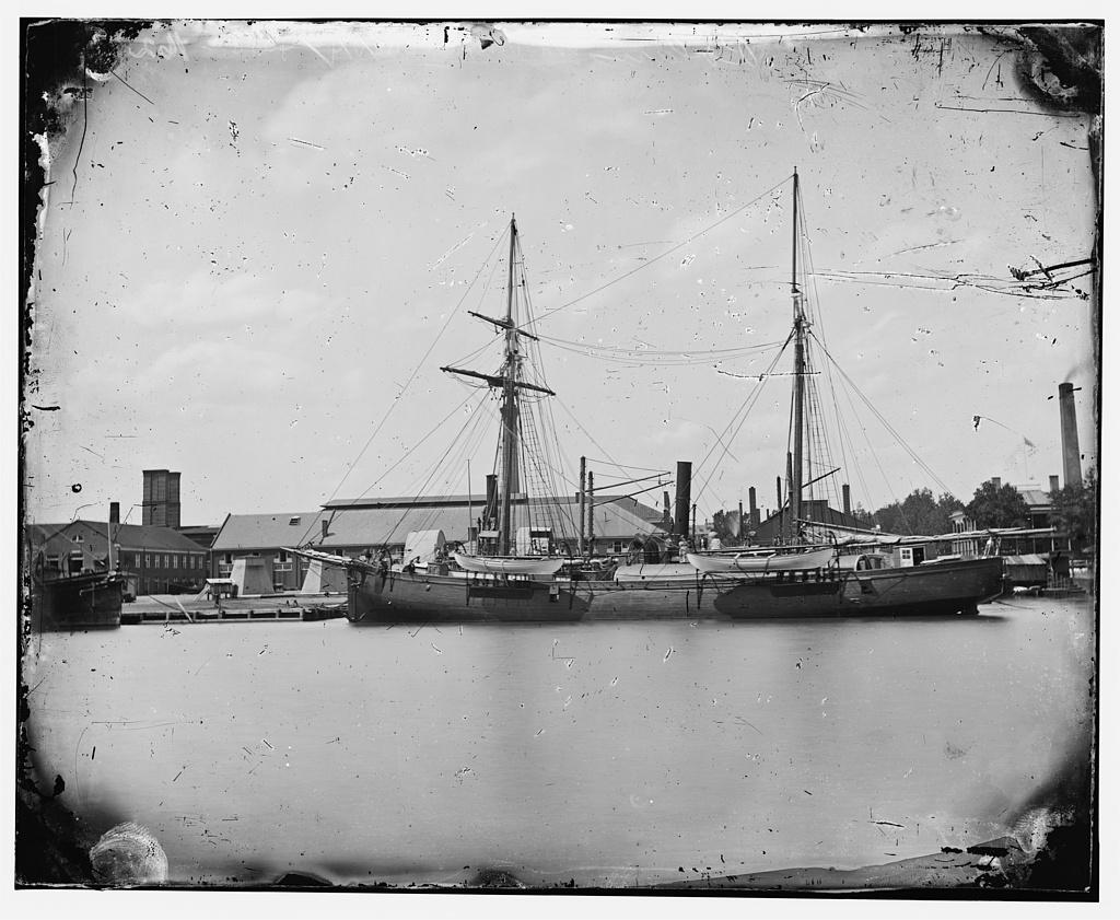 U.S.S. Polaris, Washington Navy Yard.