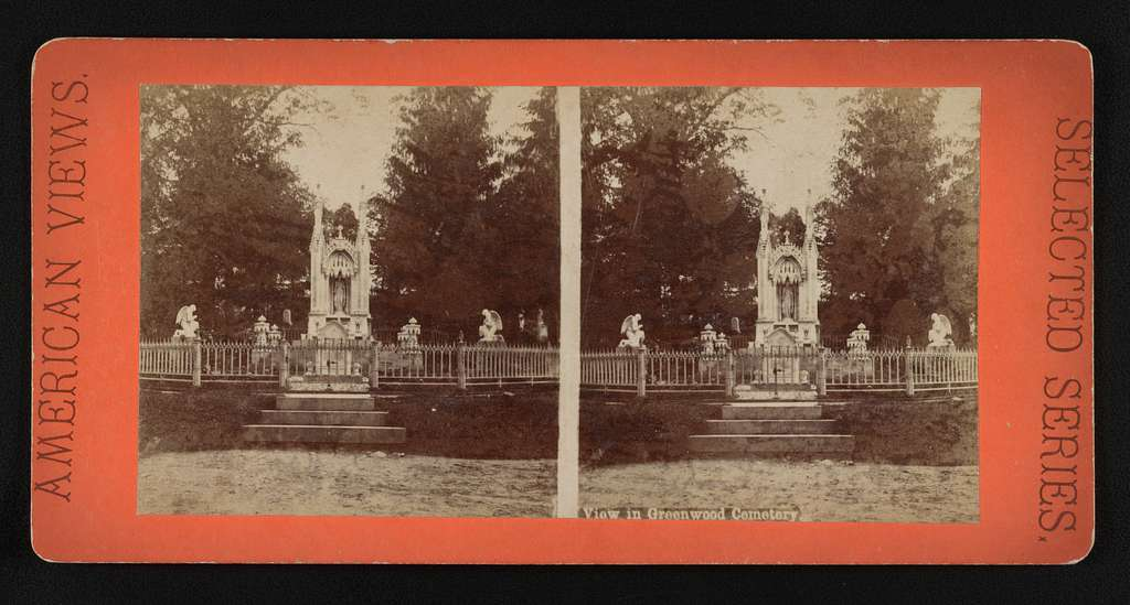 View in Greenwood Cemetery