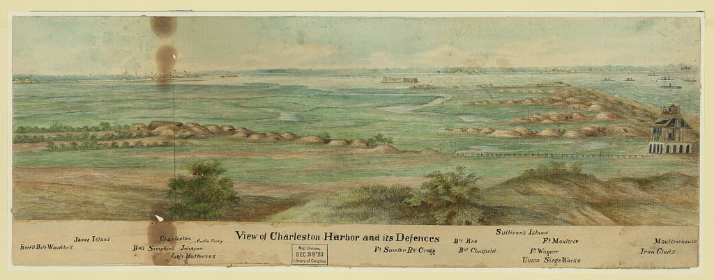 View of Charleston Harbor and its Defences