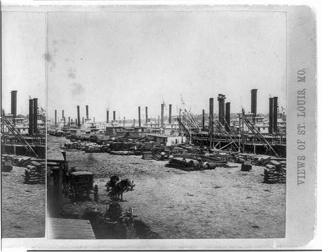 View of St. Louis, Mo. [Levee]