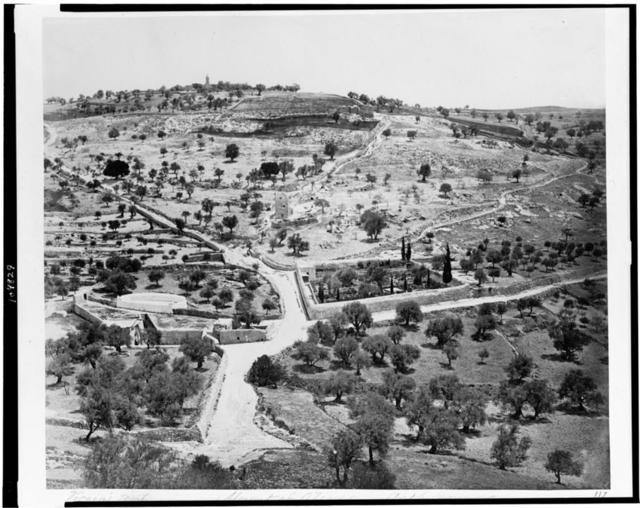 [Virgin's tomb. Mount of Olives - Gethsemane] / P. Bergheim.