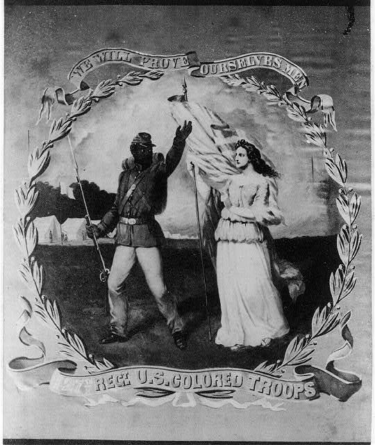 We will prove ourselves men - 127th Regt. U.S. Colored Troops