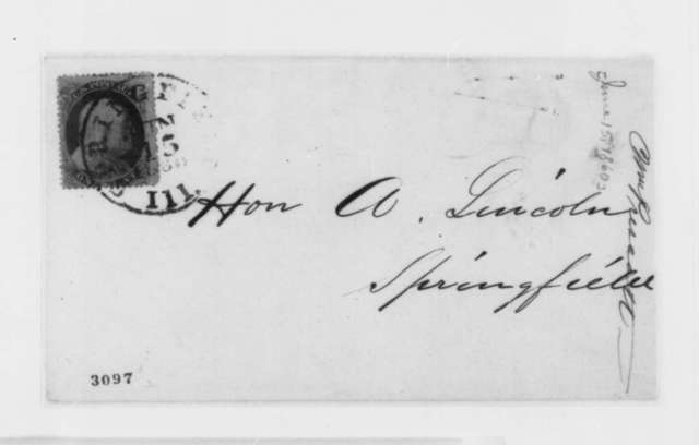 William Prescott to Abraham Lincoln, Friday, June 15, 1860  (Wants to publish a portion of a book that deals with the Mexican War)