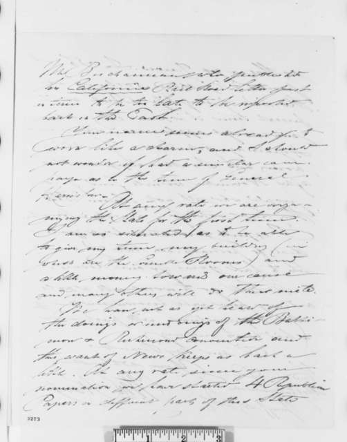 William Rabe to Abraham Lincoln, Thursday, July 05, 1860  (Pacific railroad)