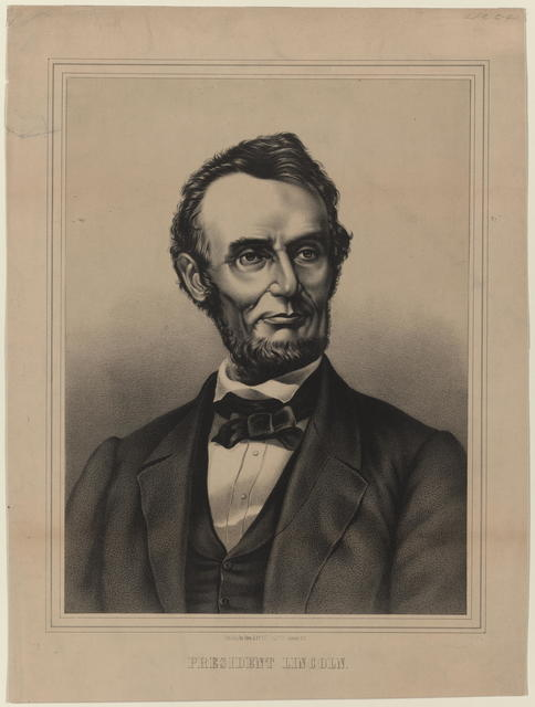 [Zorn & Co. portrait of President Lincoln]