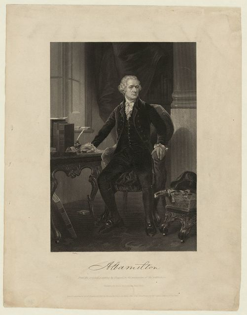 A Hamilton from the original painting by Chappel, in the possession of the publishers