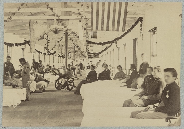A Ward in Armory Square Hospital, Washington, D.C.