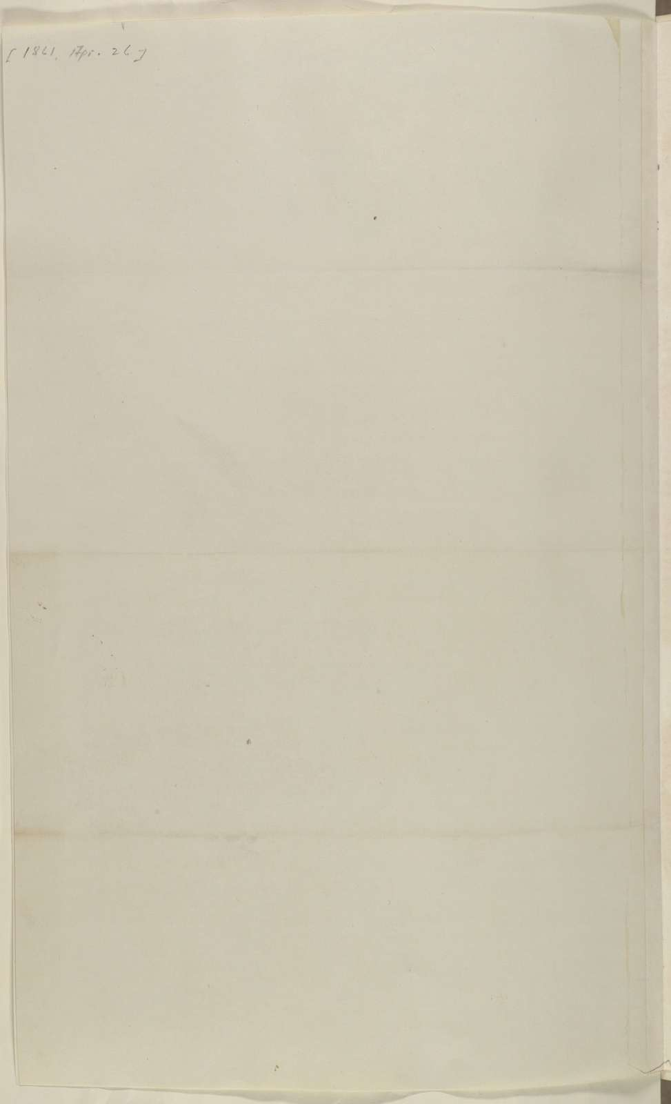 Abraham Lincoln papers: Series 1. General Correspondence. 1833-1916: New York City Democratic Republican Committee, Friday, April 26, 1861 (Printed Resolution)