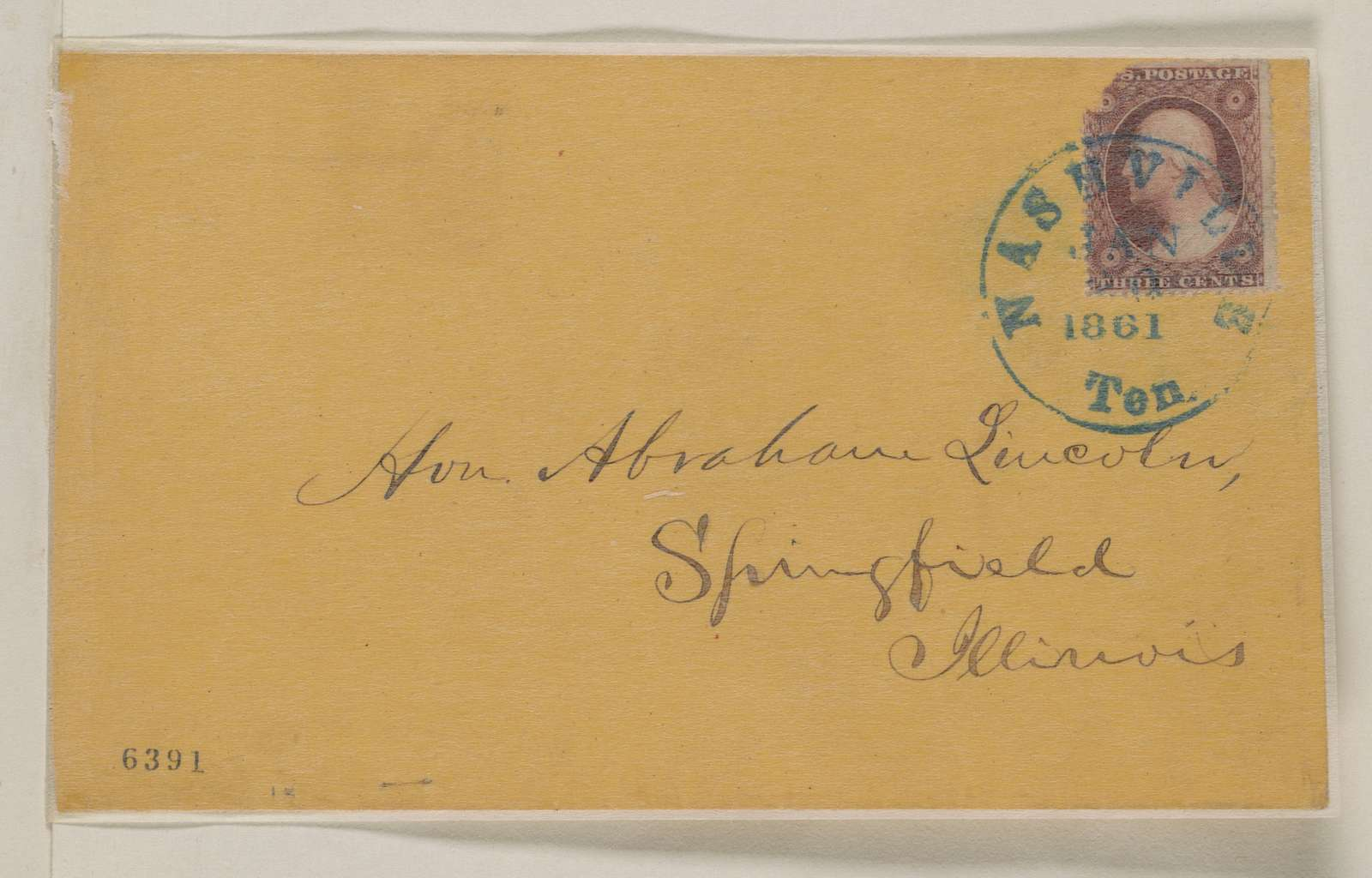 Abraham Lincoln papers: Series 1. General Correspondence. 1833-1916: Tennessee Legislature, Friday, January 18, 1861 (Printed Resolution)