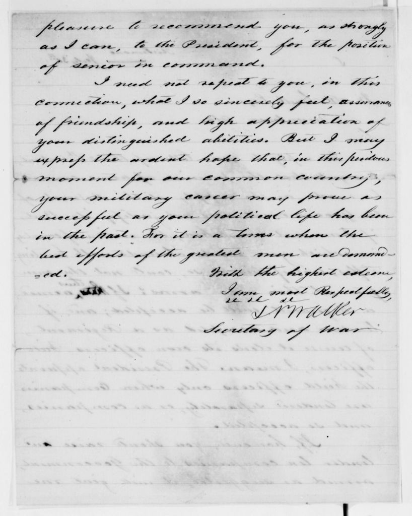 Alexander Hamilton Stephens Papers: General Correspondence, 1784-1886; 1861, July 18-Aug. 8