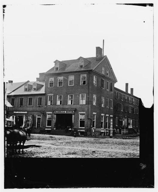 Alexandria, Virginia. Marshall house