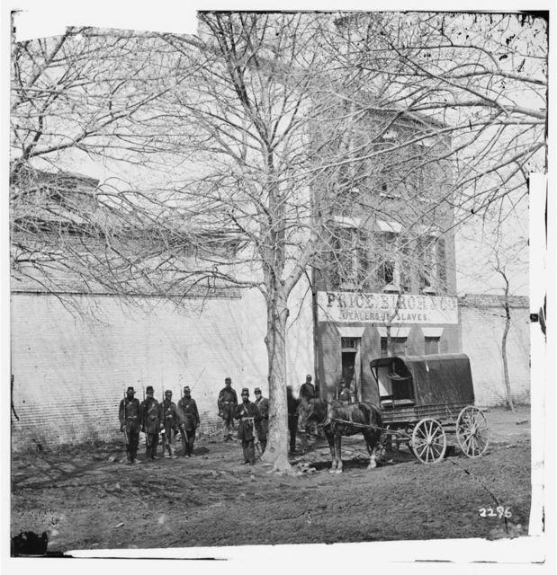 Alexandria, Virginia. Slave pen. (Price, Birch & Co. dealers in slaves)