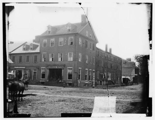 Alexandria, Virginia. The Marshall house